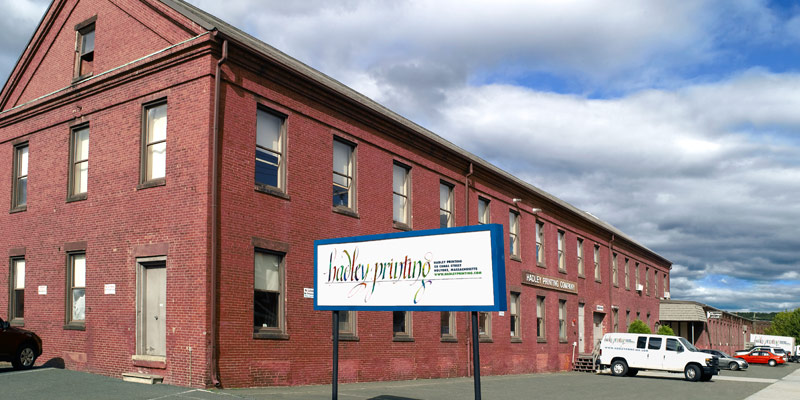 Hadley Printing in Holyoke Massachusetts