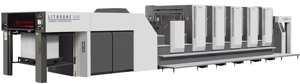 New Komori GL540 press